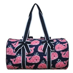 Handbags - Whale Quilted Duffel Bag BUNDLE & SAVE!